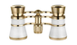 opera glasses 3 x 25  elegant white